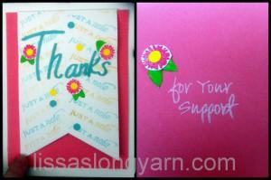 pink thx card
